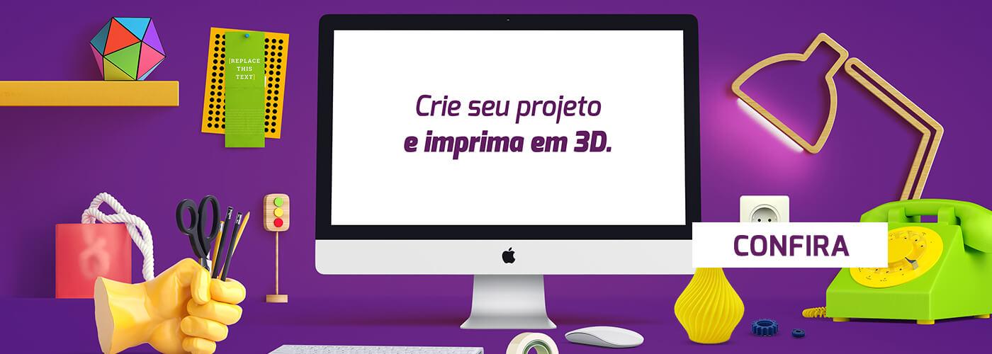 Banner Impressoras 3D